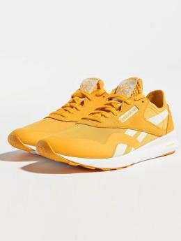 Reebok sneaker CL Nylon SP geel