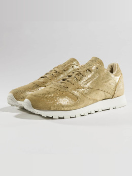 Reebok Sneaker Classic Leather Shimmer goldfarben