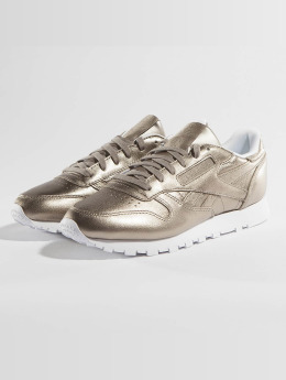Reebok sneaker Classic Leather Melted Metallic Pearl goud
