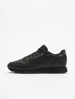 Reebok sneaker CL Leather zwart