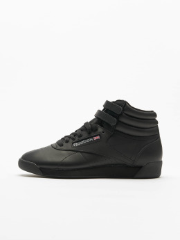 Reebok Tennarit Freestyle Hi Basketball Shoes musta