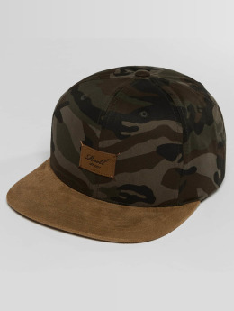 Reell Jeans Casquette Snapback & Strapback Suede camouflage