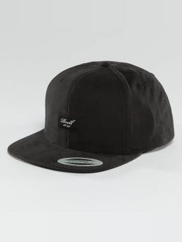 Reell Jeans Casquette Snapback & Strapback Pitchout 6 Panel noir