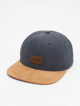 Reell Jeans Gorra Snapback Suede gris