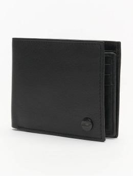 Reell Jeans Lommebøker Button Leather svart