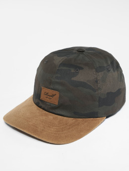 Reell Jeans Snapback Cap Suede camouflage