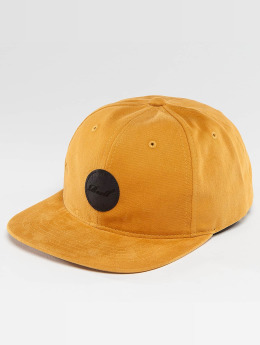Reell Jeans snapback cap Flat geel