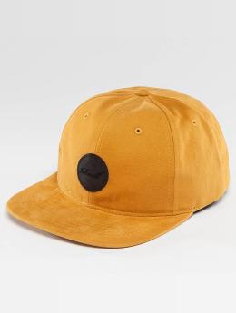 Reell Jeans Snapback Cap Flat giallo