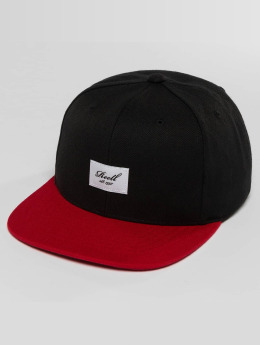 Reell Jeans Snapback Cap Pitchout nero