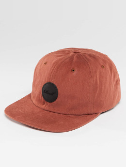 Reell Jeans snapback cap Flat rood