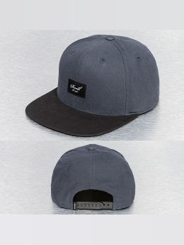 Reell Jeans Snapback Caps Pitchout 6-Panel harmaa