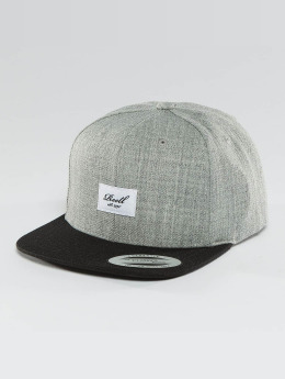 Reell Jeans Snapback Caps Pitchout 6 Panel harmaa