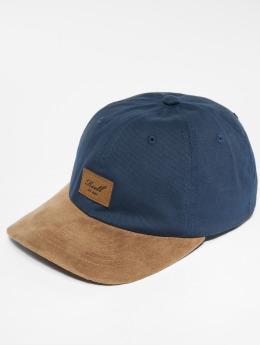 Reell Jeans Snapback Caps Suede niebieski