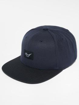 Reell Jeans Snapback Caps Pitchout niebieski