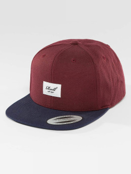 Reell Jeans Pitchout 6 Panel Cap Burgundy/Navy