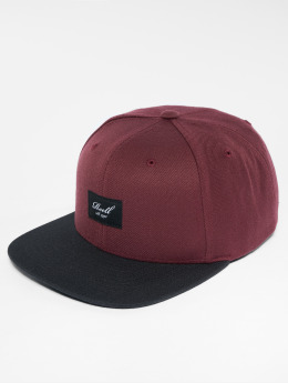 Reell Jeans Snapback Caps Pitchout punainen