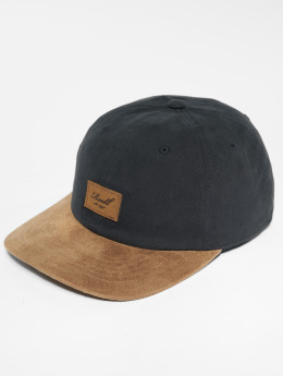 Reell Jeans Snapback Caps Suede sort
