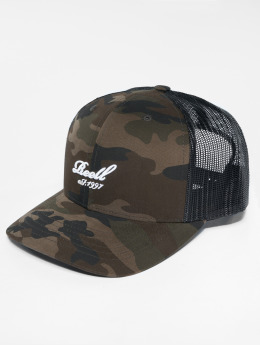 Reell Jeans trucker cap Curved camouflage