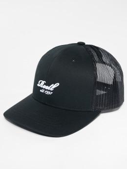 Reell Jeans Trucker Cap Curved schwarz
