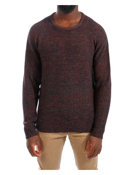 Revolution Pullover Knitted Sweater 6293 blau
