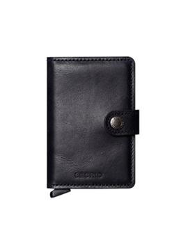 Secrid Geldbeutel Miniwallet Vintage schwarz