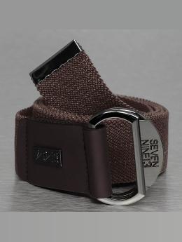 Seven Nine 13 Cinturón Looper Stretch marrón