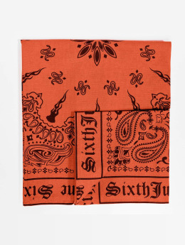 Sixth June bandana Logo oranje