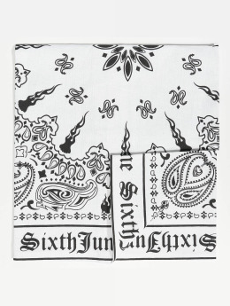 Sixth June Bandana Logo weiß