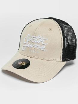 Sixth June Casquette Trucker mesh Trucker beige