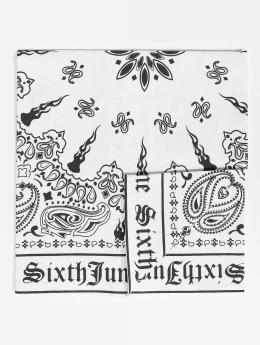 Sixth June Hodetørkler/Hodeskjerf Logo hvit