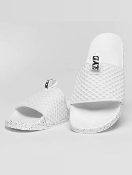 Slydes Badesko/sandaler Cruz  hvit