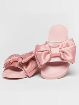 Slydes Frauen Sandalen Peep in pink