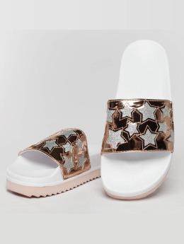 Slydes Sandals Starstruck white