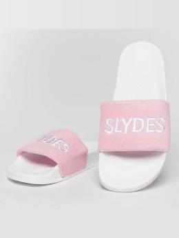 Slydes Slipper/Sandaal Plya  wit