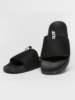 Slydes Slipper/Sandaal Cruz zwart