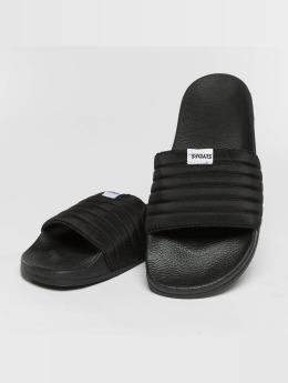 Slydes Slipper/Sandaal West  zwart