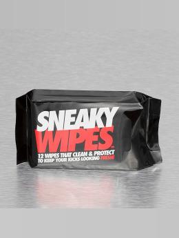 Sneaky Brand Männer,Frauen Schuhpflege Wipes in schwarz