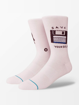Stance Chaussettes Save Yourself magenta