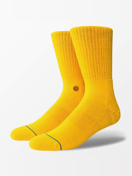 Stance Socken Icon goldfarben
