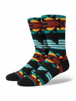 Stance Socken Cedergreen schwarz