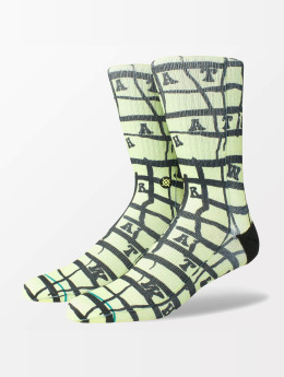 Stance Socks Whatever Whatever yellow