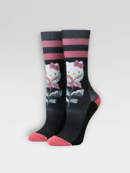 Stance Flower Friend Socks Black