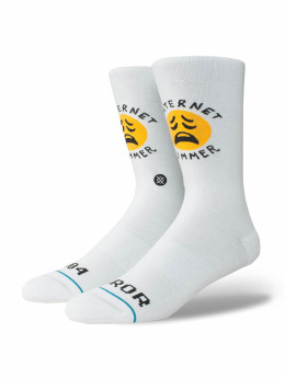 Stance Bummer Socks White