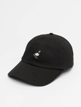 Staple Pigeon Snapback Caps Basic Twill čern