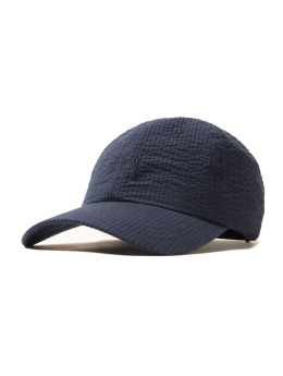 Stüssy Fitted Cap Seersucker blau