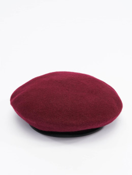 Stüssy Fitted Cap Military Beret rot