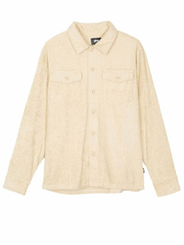 Stüssy Hemd Long Terry BDU beige