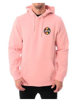 Stüssy Hoody Stüssy Reggea Dot pink