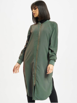 Stüssy Kleid Tonic Zip Dress grün