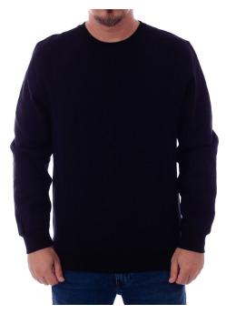 Stüssy Pullover Camo Stock Crew schwarz